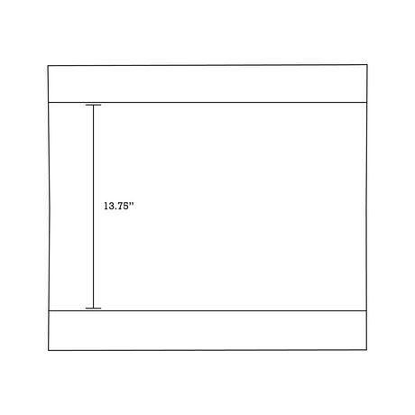 Imaginations Américaines  68.75 pouces W Vanity Base Set  Gris - image 7 de 9