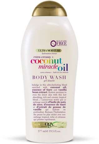OGX Extra Creamy + Coconut Miracle Oil Ultra Moisture Body Wash - image 1 of 4
