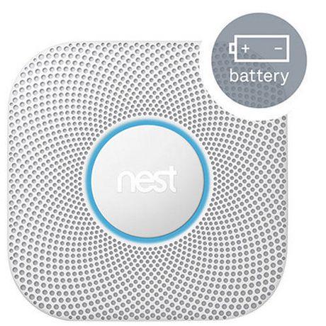 Nest Protect (Batterie) 2e génération, blanc - image 1 de 3