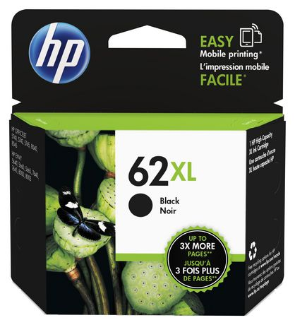 Hp 62 Xl Black High Yield Original Ink Cartridge (C2 P05 An) by Hp