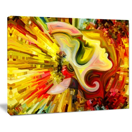 OFFRAY Design Art beyond Inner Paint Canvas Print - image 2 of 3