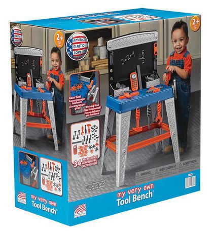 American Plastic Toys My Very Own Tool Bench - image 2 of 5