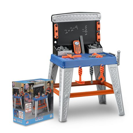 American Plastic Toys My Very Own Tool Bench - image 3 of 5