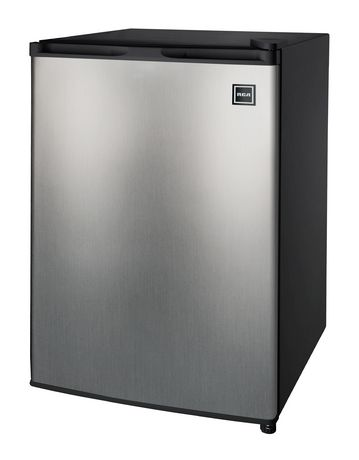RCA 2.6 Cu Ft Compact Fridge- Stainless Steel - image 1 of 2