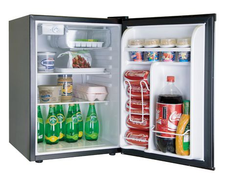 RCA 2.6 Cu Ft Compact Fridge- Stainless Steel - image 2 of 2