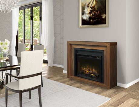 Dimplex Anthony Mantel Electric Fireplace Walmart Canada
