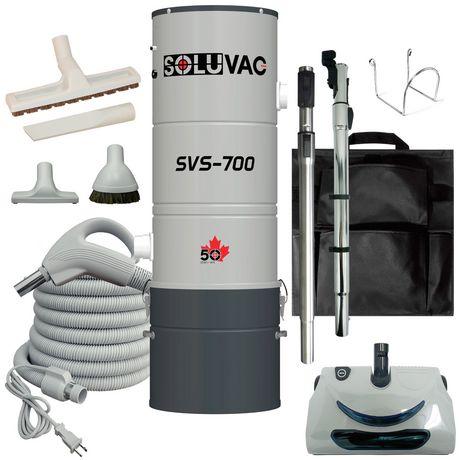 Aspirateur central SOLUVAC avec brosse électrique pour tapis - image 1 de 3