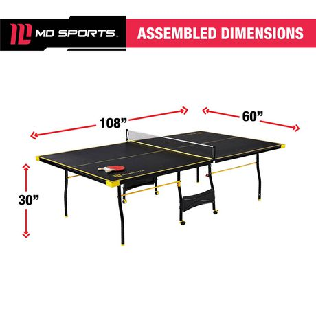 Medal Sports Official Size Table Tennis Table - image 9 of 9
