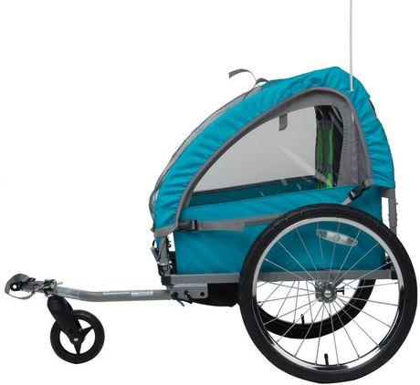 Remorque pour vélo Smooth Sailer de Bell Sports