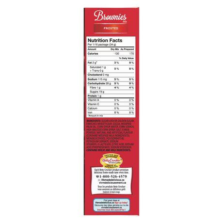 Betty Crocker Mélange à brownies Sachet de Glacage Cremeux de Luxe inclus - image 3 de 9