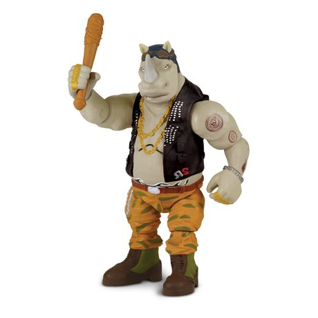 Out of the Shadows Battle Sounds Rocksteady Action Figure