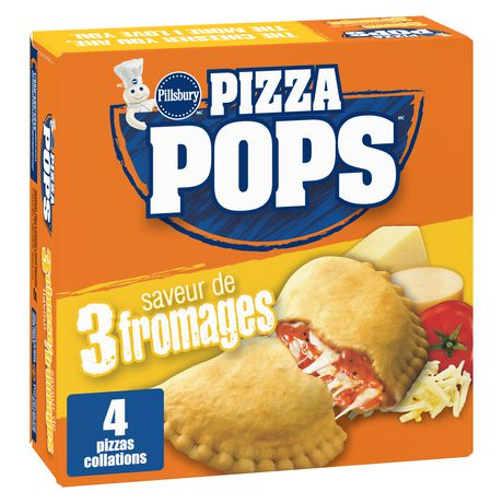 Pillsbury Pizza Pops Three Cheese Pizza Snacks - image 2 of 7