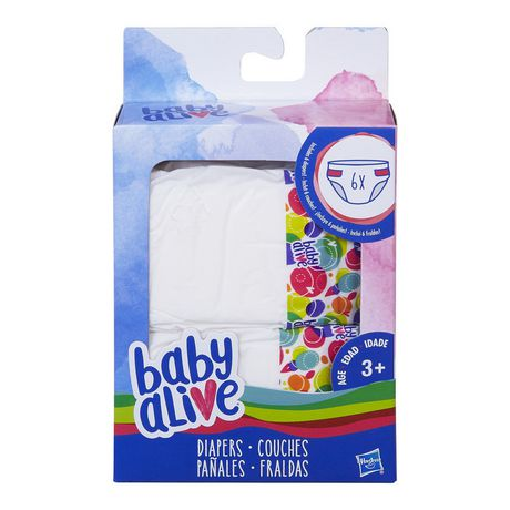 Baby Alive Diapers Refill Pack Walmart Canada