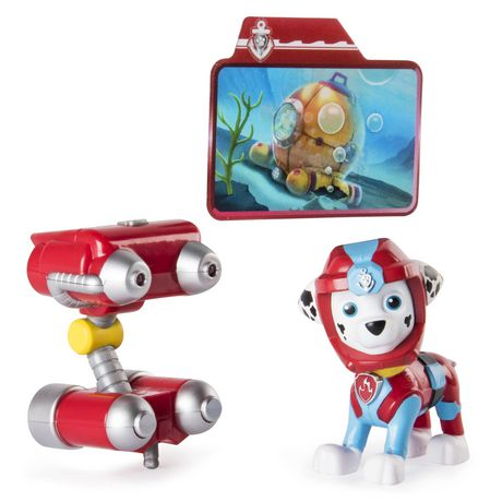 PAW Patrol Sea Patrol – Light up Marshall with Pup Pack And Mission Card - image 1 of 4