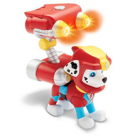 PAW Patrol Sea Patrol – Light up Marshall with Pup Pack And Mission Card - image 3 of 4