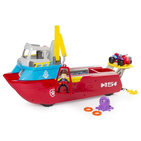 PAW Patrol Sea Patrol – Sea Patroller Transforming Vehicle with Lights And Sounds - image 3 of 9