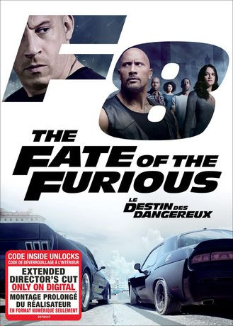 the fate of the furious dvd digital hd bilingual. Black Bedroom Furniture Sets. Home Design Ideas