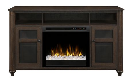 Dimplex Xavier Media Console Electric Fireplace Walmart