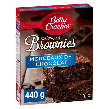Mélange de brownie avec corceaux de chocolat de Betty CrockerMC - image 2 de 11