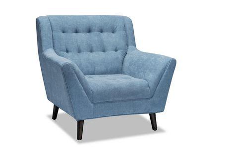 Topline Home Furnishings 3pc Blue Sofa Set - image 2 of 4