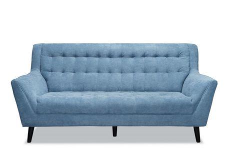 Topline Home Furnishings 3pc Blue Sofa Set - image 4 of 4
