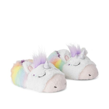 George Toddler Girls' Unicorn Slippers - image 2 of 4