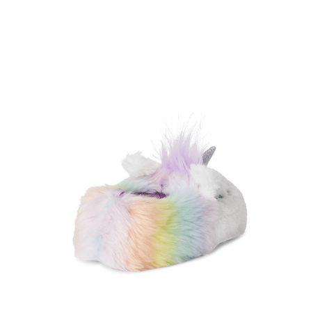 George Toddler Girls' Unicorn Slippers - image 4 of 4