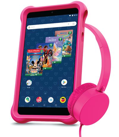 "Disney airBook 7"" Android Kids Tablet Bundle"
