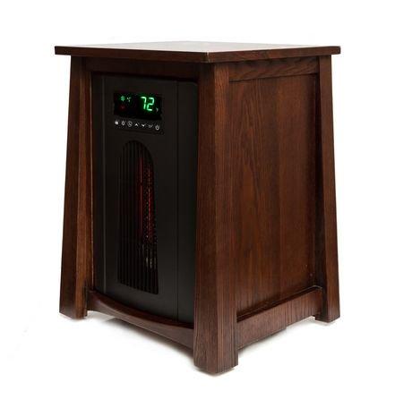 Lifesmart 1500w Lifelux Series Deluxe Infrared Heater