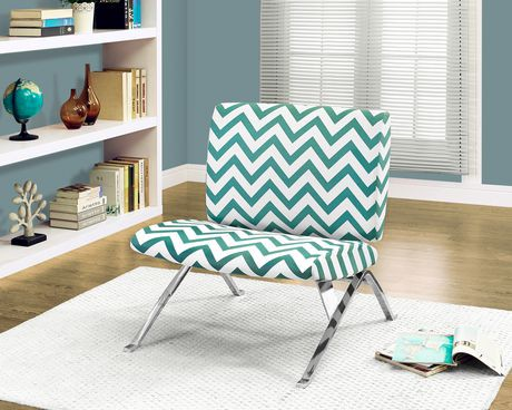 Monarch Specialties Accent Chair Teal Walmart Canada