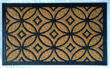mainstays coco rubber door mat
