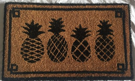 tapis en fibre de coco mainstays motif d 39 ananas walmart canada. Black Bedroom Furniture Sets. Home Design Ideas