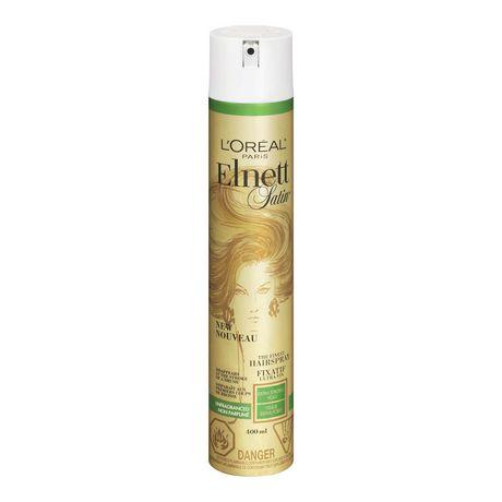 a9ef037ea10 L'Oréal Paris Elnett Satin Unfragranced Extra Strong Hold Hairspray - image  1 ...