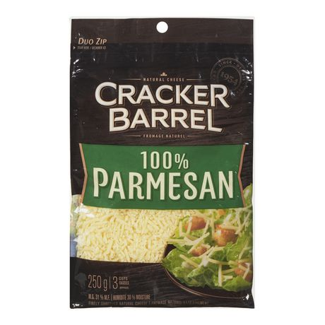 Cracker Barrel 100% Parmesan Finely Shredded Natural Cheese - image 1 of 2