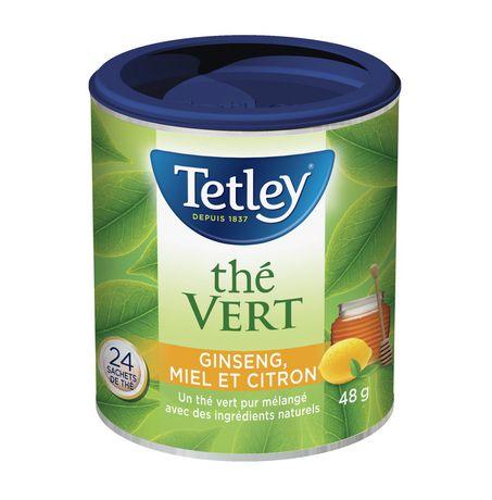 Tetley Honey Lemon Ginseng Green Tea - image 2 of 3