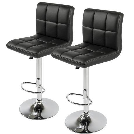 Nicer Furniture Black Hexagrid Bar Stool - image 1 of 1