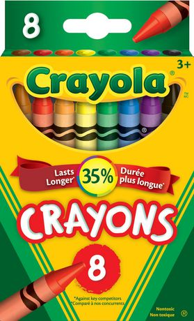 Crayola 8 Pack Crayons - image 1 of 1