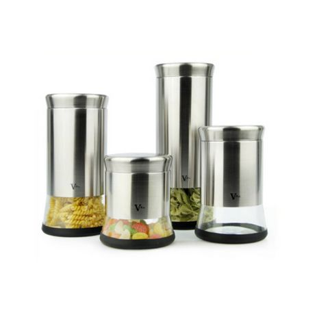 VFPco 4-Piece Canister Set (b) - image 1 of 2