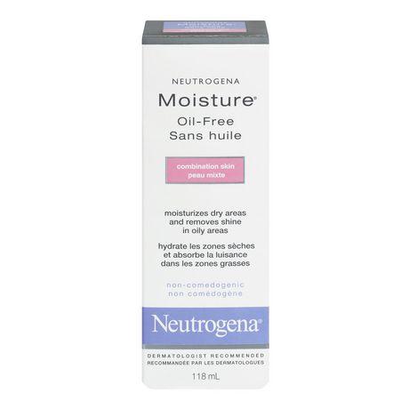 Neutrogena® Moisture® Oil-Free Combination Skin Moisturizer