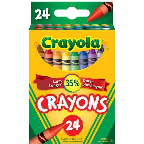 Crayola Crayons, 24 Count - image 1 of 3