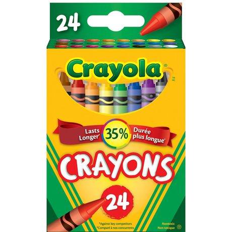 crayola 24 count crayons walmartca - Crayola Crayons Pictures
