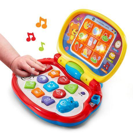 vtech brilliant baby laptop toy english version walmart canada. Black Bedroom Furniture Sets. Home Design Ideas