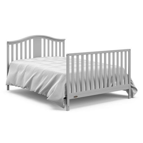 Graco Solano 4-in-1 Crib w/ Drawer - Pebble Grey - image 5 of 6
