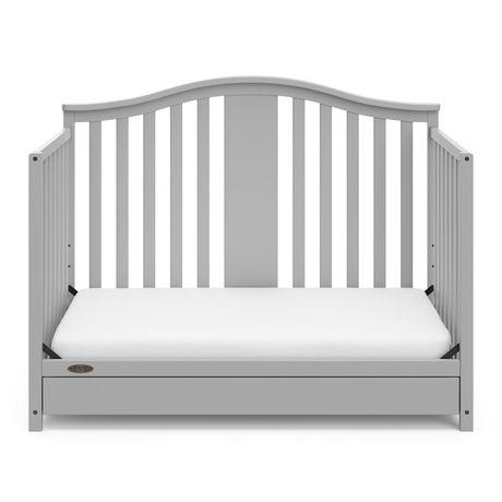 Graco Solano 4-in-1 Crib w/ Drawer - Pebble Grey - image 6 of 6