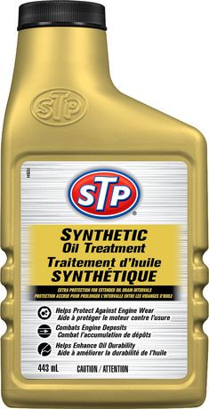 Stp sunthetic oil treatment 443 ml for Who makes stp synthetic motor oil