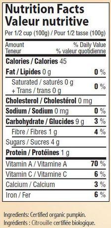 Farmer's Market Foods Organic Canned Pumpkin Puree - image 2 of 2