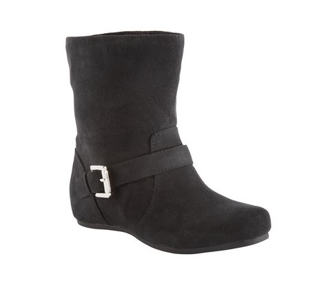 25 STONE - Ladies'  Covered Wedge Casual booties - image 1 of 1