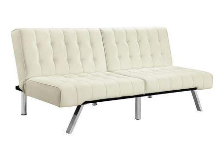 dhp emily convertible futon   walmart canada  rh   walmart ca