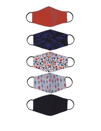 Ensemble de 5 masques réutilisable pour enfant - image 1 de 1