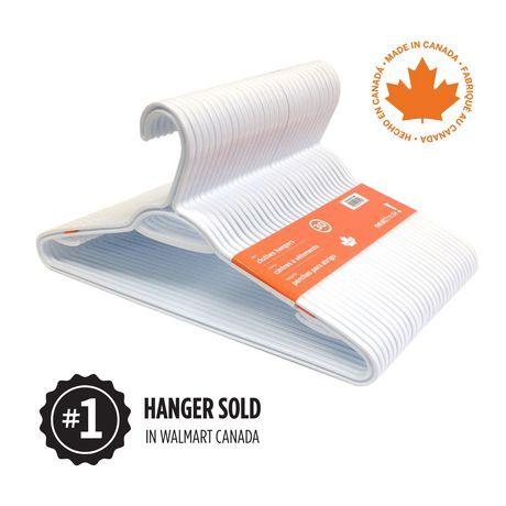 neatfreak!® 30PK Plastic Clothes Hanger | Walmart Canada